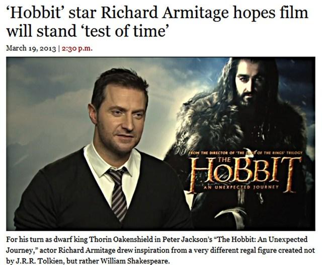 HobbitStarRichardArmitageHopesFilmStandstheTestofTimeMar1913LATimesGratianaLovelaceCap copy