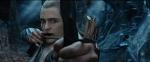 Legolas aiming at Thorin in Mirkwood