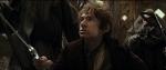 Bilbo ready to fight monster