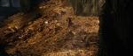 Bilbo running down Erebor gold pile