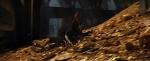 Bilbo sliding down Erebor gold pile