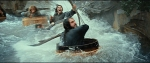 Dwarves in Barrels in Rapids