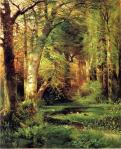 SeaGroveEstateWoods-image-is-a-ForestScene6269byThomasMoranNov2511paintinghere