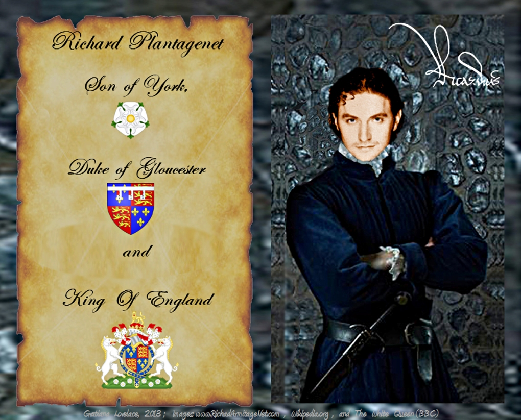 """My Kingdom for a horse"""": The love matches, alliances, and betrayals of King Richard  III; Et Cetera 08/25/13 Gratiana Lovelace (Post#442)   Something About Love  (A)"""