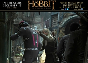 11-THDoS-Live-Event-Vlog--motion-capture-bad-guy-withLegolas-Nov0413GratianaLovelaceCap