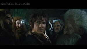 20-THDoS-SneakPeak-Dwarves-and-Bilbo-enter-Erebor-Nov0413GratianaLovelaceCap
