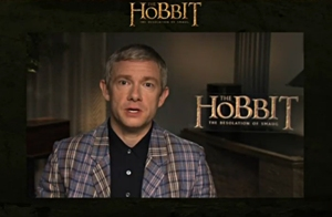 9-THDoS-Live-Event-Video-Martin-Freeman-Welcome-Nov0413GratianaLovelaceCap