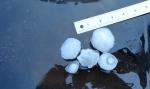 DSC01615--size of first batch of hail stones Nov1713