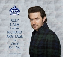 KeepCalmSelfDec2013RichardArmitageProfileNavyPlaidNov1613ItsanRAWorld