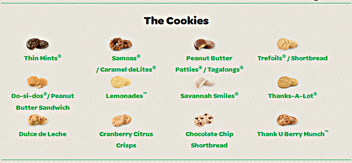 girl scouts meet the cookie diet