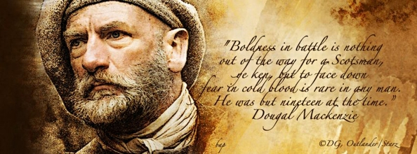 Graham McTavish as Dougal MacKenzie Signature by Betsy A. Pudliner