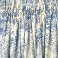 toile-blue-curtains_Apr2414goodshomedesignblogspot