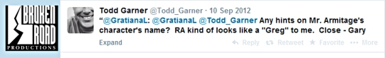 GratianaL-guessed-Greg_Todd-Garner-revealed-RA-char-is-Gary_Sep2012ToddGarnerTwitter-sized
