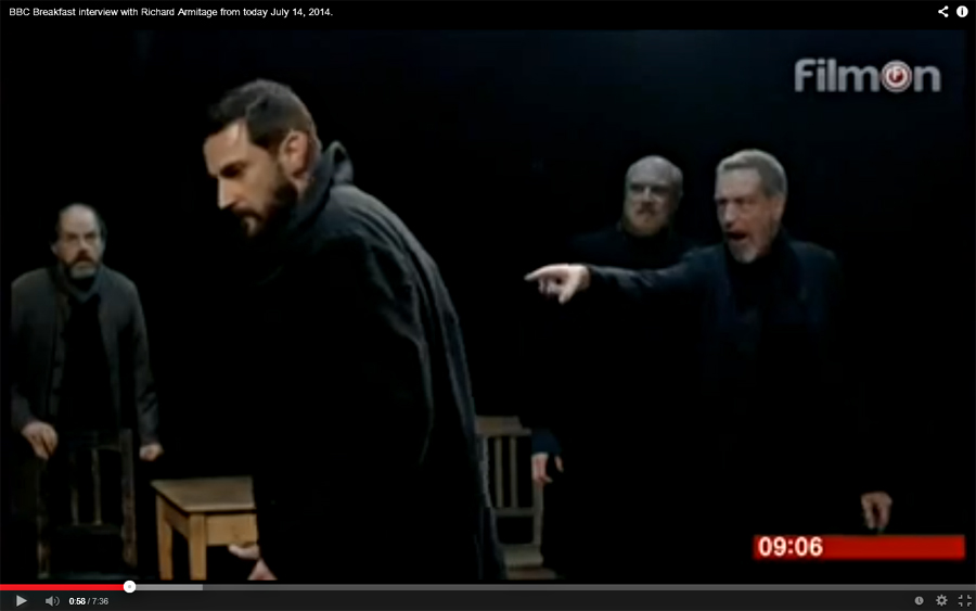 "john proctor as an example of a hero in the crucible a play by arthur miller (foreground) and erin wilhelmi in arthur miller's ""the crucible as the farmer john proctor play, drama credits written by arthur miller."