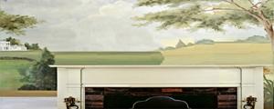 PaintedWallpaperMuralJan0413GratianaLovelace-bkgrndRev3GoldEdge-sized