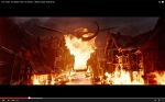Smaug smites Laketown with flames