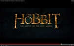 The Hobbit--The Battle of the Five Armies logo