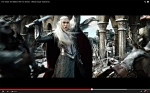 King Thranduil fighting