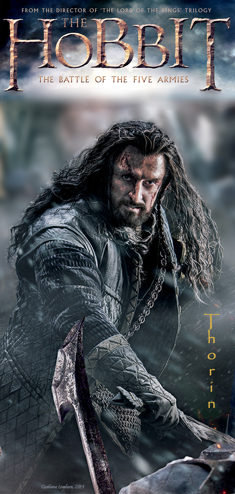 One Last Time: Following Richard Armitage as Thorin ...