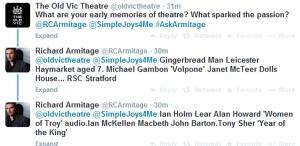 AskArmitage02--early-memories-of-theatre_Sep1214GratianaLovelaceCap