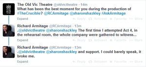 AskArmitage08--Best-moment-in-production-1stAct4inRehearsals_Sep1214GratianaLovelaceCap