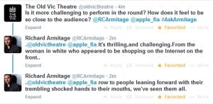 AskArmitage11--Performing-in-round-thrilling-engaged-audience-members_Sep1214GratianaLovelaceCap