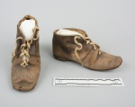 GirlsBrownBuckskinShoes-circa1845-1850VoyagerImages_Sept0214WIHistMuseum