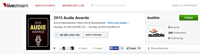 Livestream-2015-Audie-Awards_May2815audible