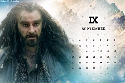 2015--SeptemberCalendar--RichardArmitage-asThorin_Sep0115byThorin-ofErebor-w-image-byBiondetta-diable-amoureux-tumblr-sized