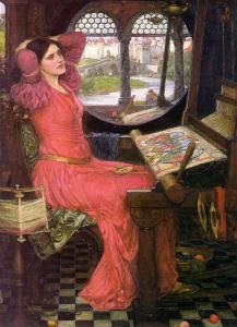Sulisha-weaving-is-ajohn_william_waterhouse-painging_-_i_am_half-sick_of_shadows_said_the_lady_of_shalott_Oct1215growingtoseed