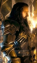 (L-r) RICHARD ARMITAGE as Thorin and MARTIN FREEMAN as Bilbo in the fantasy adventure movie THE HOBBIT: THE BATTLE OF THE FIVE ARMIES, a production of New Line Cinema and Metro-Goldwyn-Mayer Pictures (MGM), released by Warner Bros. Pictures and MGM. Photo Credit: Warner Bros.