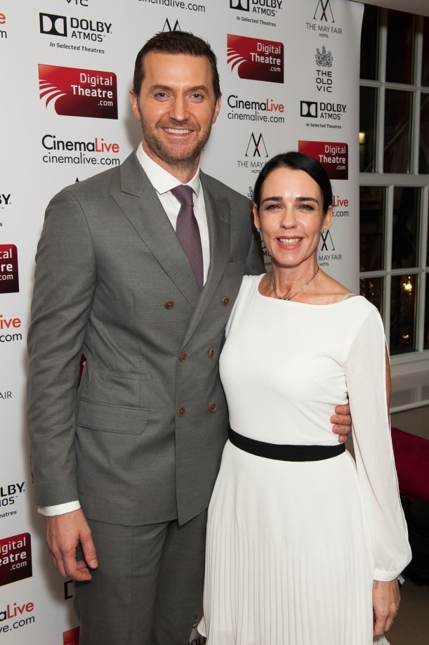 Richard Armitage and Yael Farber at The Crucible on screen premiere Dec2014 byDavid Jensen May2716ranet