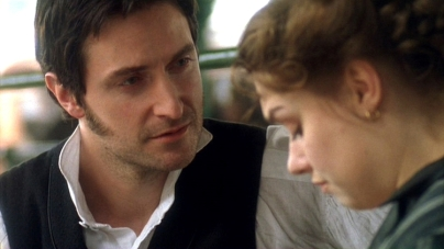 "2004 as John Thornton with Daniela Denby-Ashe as Margaret Hale in ""North & South"""