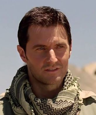 "2010 as John Porter in the desert in ""Strikeback"" series 1"