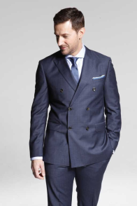 2014 DaMan double breasted suit
