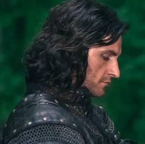 2009 as Sir Guy of Gisborn, in profile