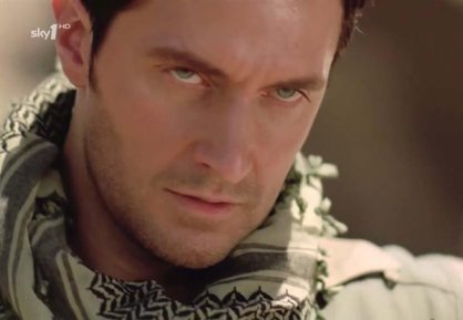 "2010 with desert eyes as John Porter in ""StrikeBack"" series 1"