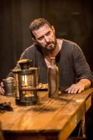 "2014 as John Proctor eating in ""The Crucible"""