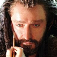 2011-2120 as Thorin Oakenshiled- in makeup