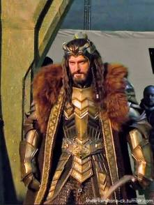 2014 behind the scenes as Thorin Oakenshield