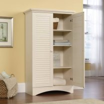 Sauder Harbor View kitchen storage cabinet