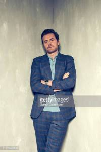 Richard Armitage posing for Gareth Cattermole during TIFF 2019