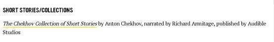 AudieAward--2021--Short-Stories-ChekhovCollection-read-byRichardArmitage_Mar25-2021grati-cap